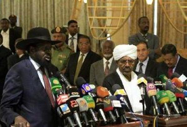 Khartoum and Juba vow to settle disputes peacefully