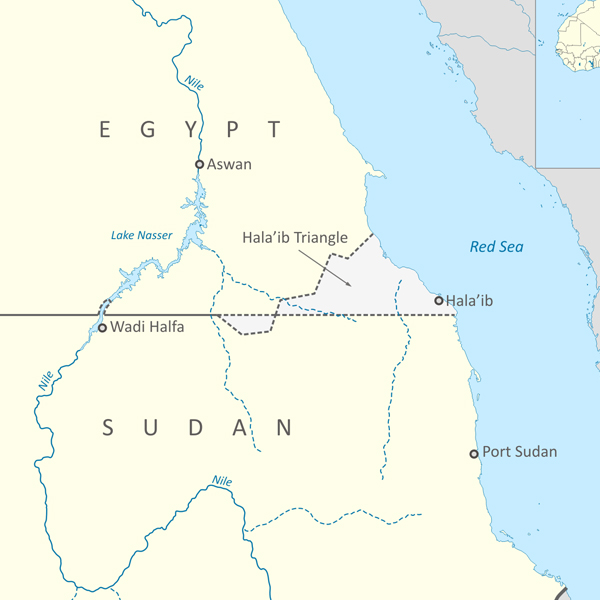 Possible arbitration between Sudan and Egypt?