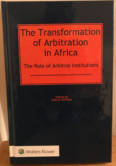 Book Alert: The Transformation of Arbitration in Africa
